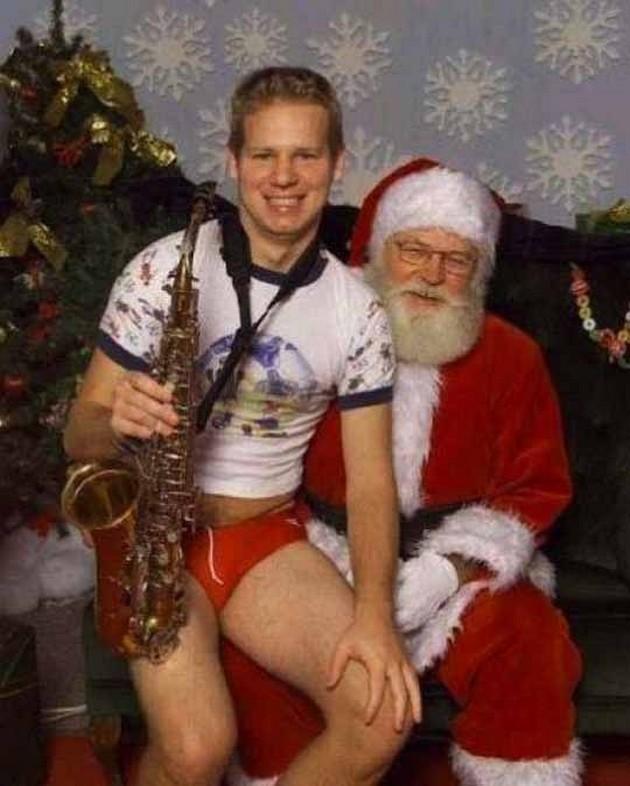 at - Awkward Christmas Family Photos